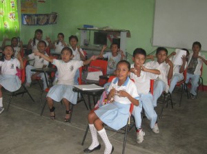 Netza School classroom