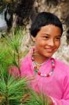 Lhaden, girl in Bhutan, Bhutanese schoolgirl