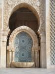 tilework, Hassan II Mosque, Casablanca, Morocco