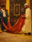 Berber carpets, Merzouga, Depot Nomade, Morocco