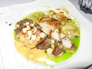 seared scallops, Newmans at 988, Cannon Beach, Oregon