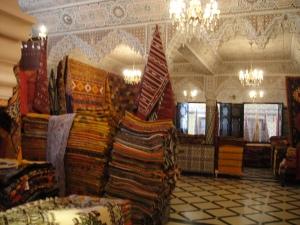 Berber kilim carpets, Meknes, Morocco