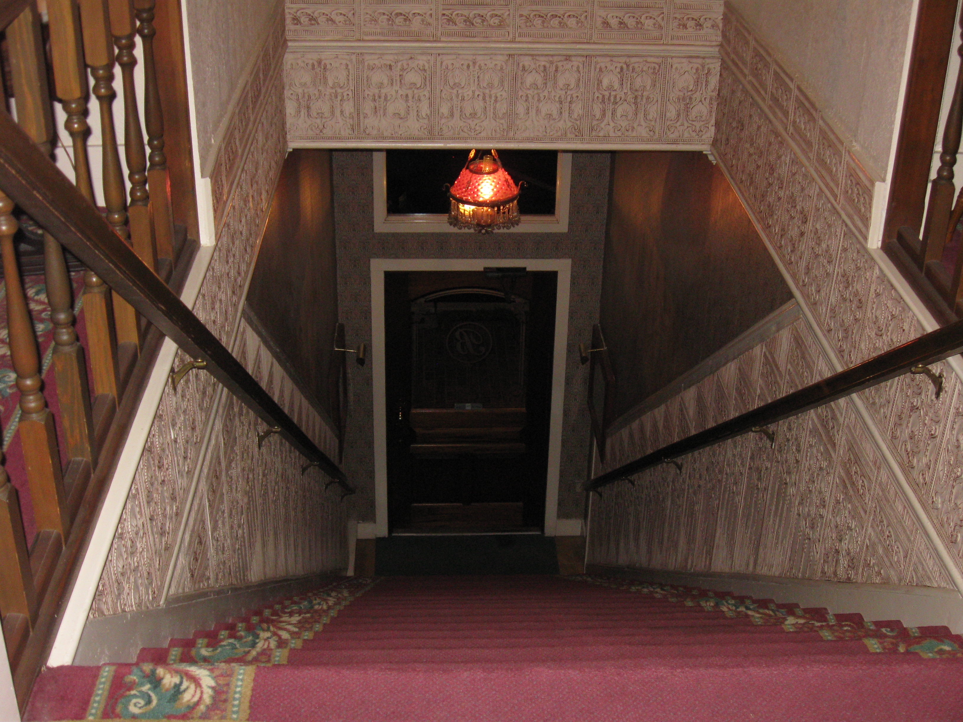 Stairs bishop victorian hotel port townsend washington