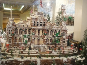 gingerbread village Hyatt Regency Honolulu