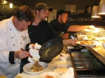 Chef Scott's students at Frasers, Oak Harbor, Wash