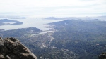 view from Mt. Tam
