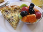 Salmon Quiche breakfast